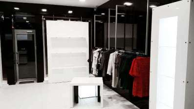 Shopfitting, shop equipment, shop furniture, shop interior design, shop furniture parts